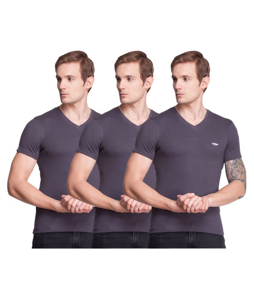Force NXT Multi V-Neck T-Shirt Pack of 3