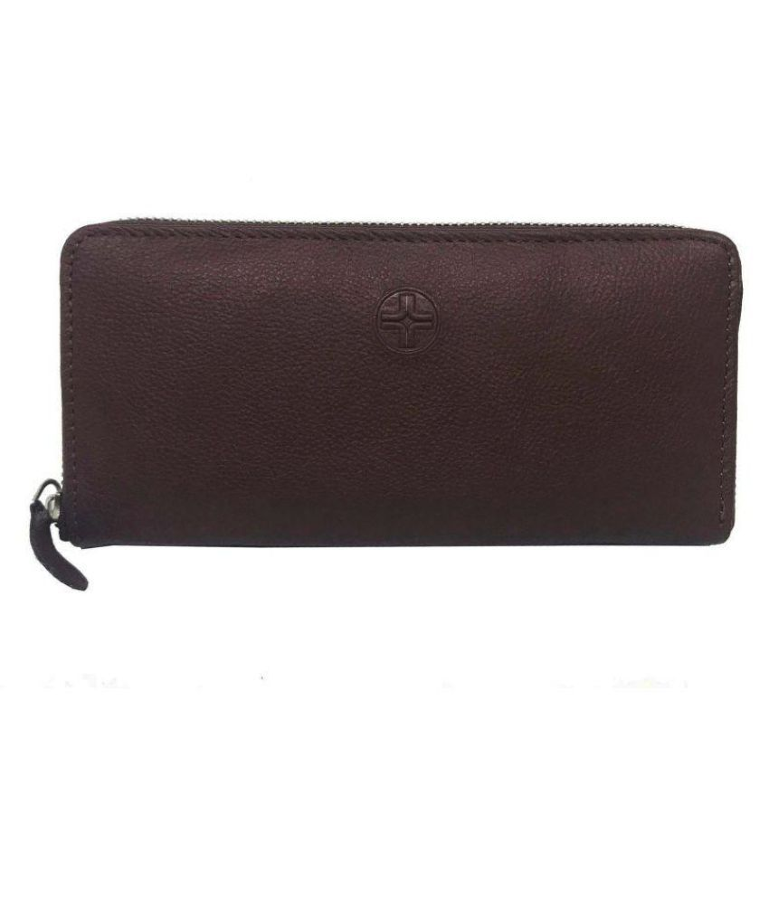 JL Collections Brown Wallet