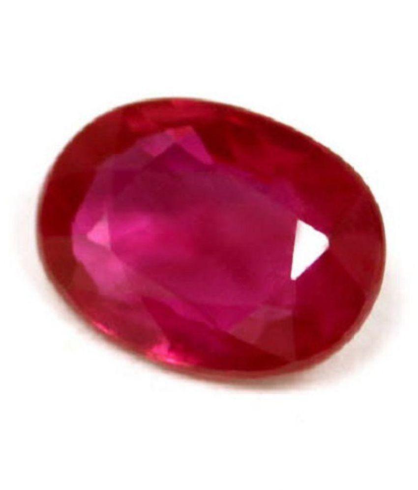 FeelTouchMart 6.25 -Ratti IGL Pink Ruby Precious Gemstone