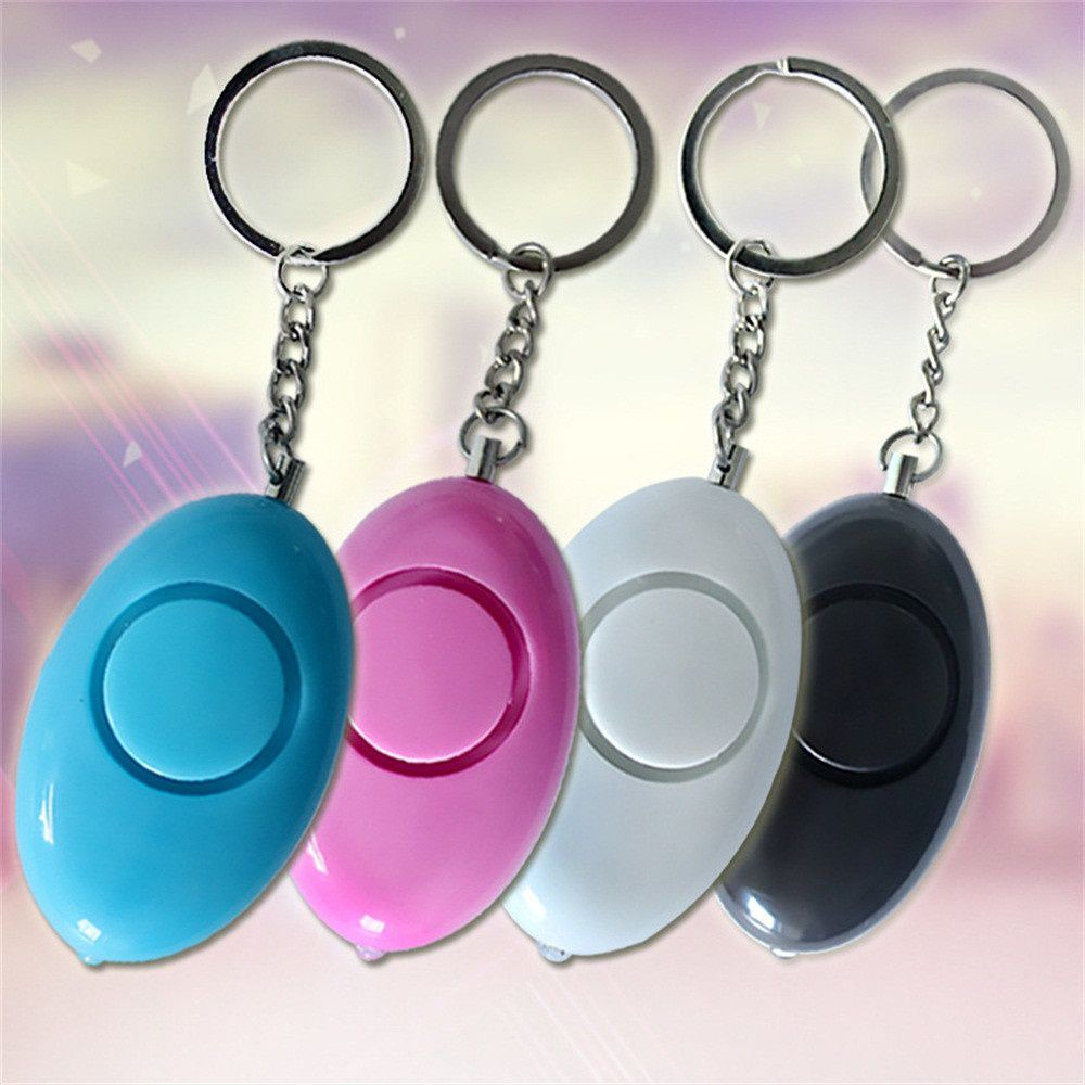 Alarm Emergency Siren Song Survival Whistle Security Keychain