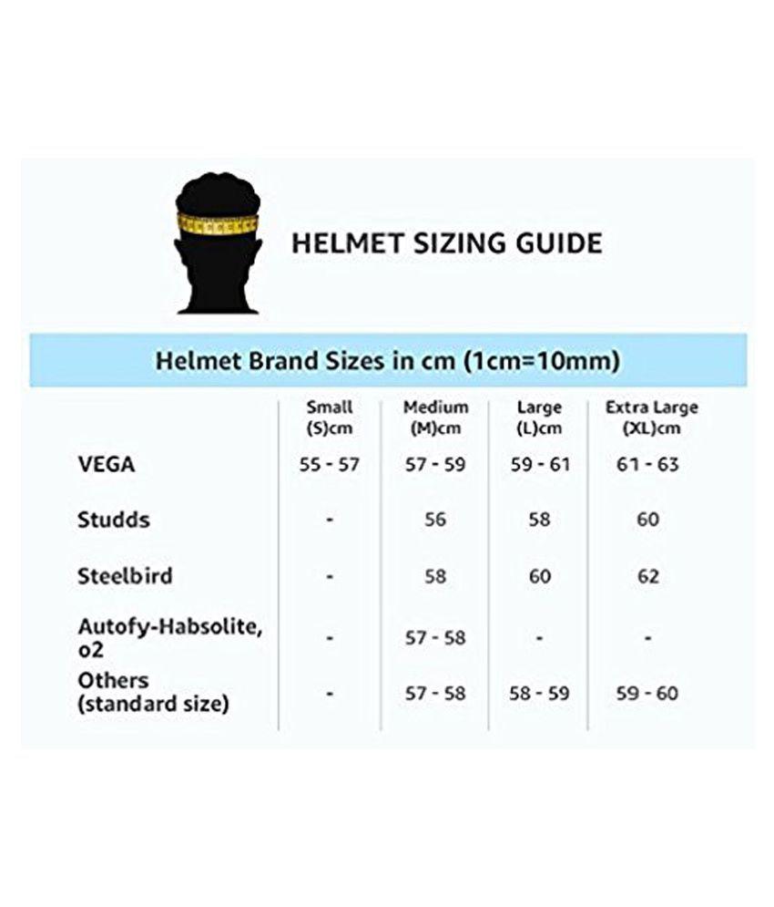 Studds Ninja Pastel Full Face Helmet Black Xl Buy Top Adult Pants Isi 10