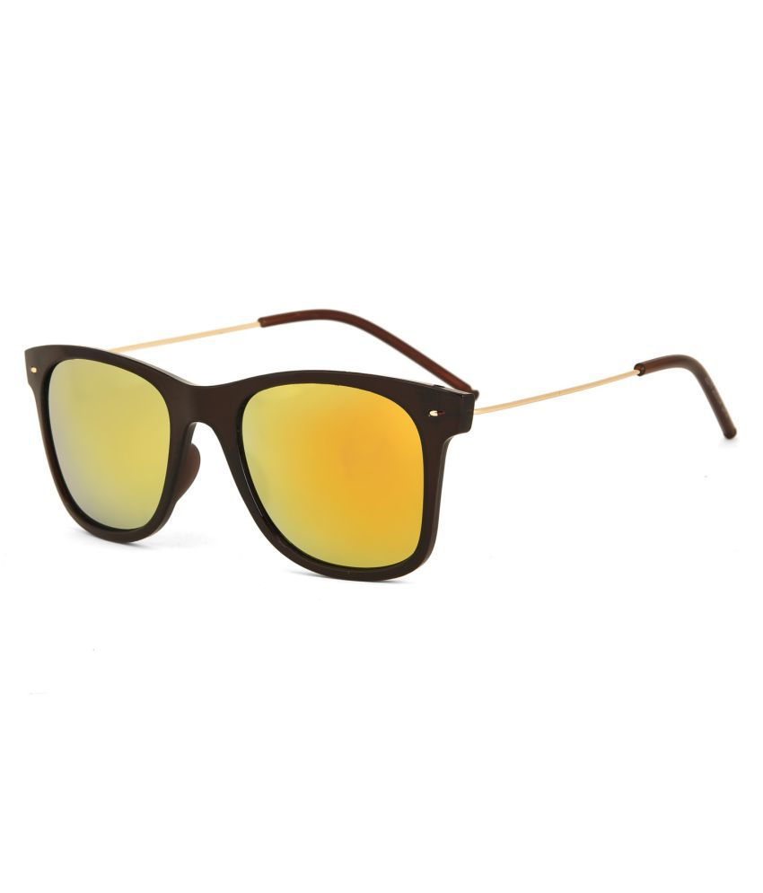 Royal Son Red Wayfarer Sunglasses ( WHAT5315 )