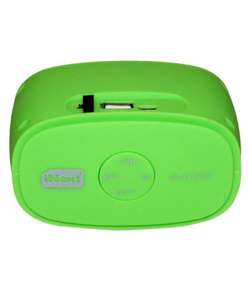 Inext IN 509 Speaker 2.0 Speakers   Green