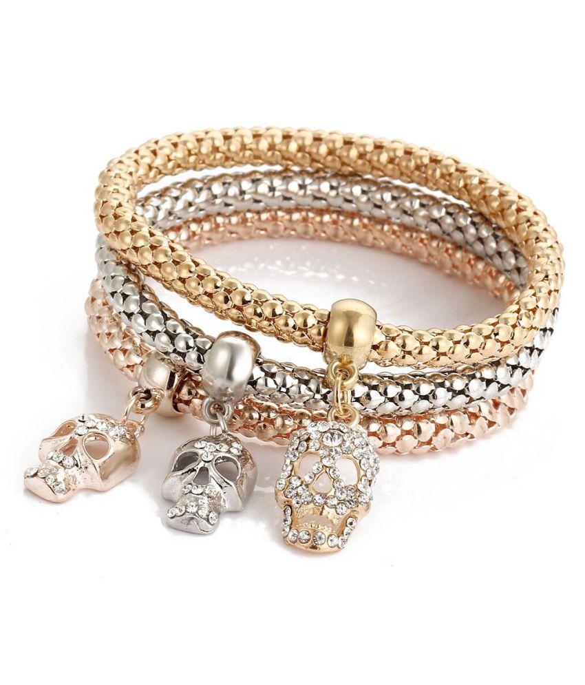Fashion Women Rhinestone Alloy Crystal Bracelet Adjustable Chain Bracelets Jewelry Gift