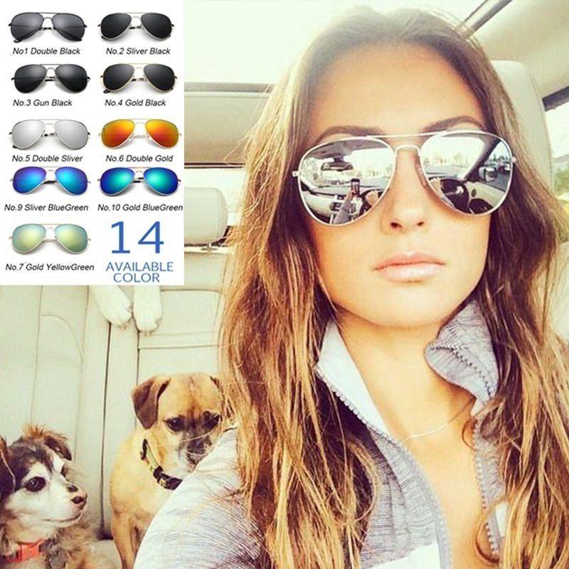 ZXG Black Aviator Sunglasses ( SIPU Women Outdoor UV400 Retro Aviator Sunglasses )