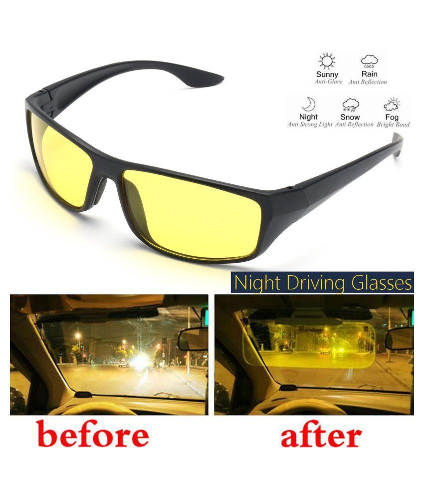 72709c475e2 ZXG Multicolor Aviator Sunglasses ( Polarized Night Vision Driving Glasses  Yellow ) - Buy ZXG Multicolor Aviator Sunglasses ( Polarized Night Vision  Driving ...