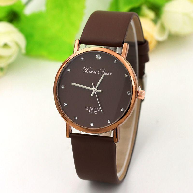 92e6fccef Women Analog Quartz Watches Fashion Wrist Watch Casual Brand watch ...