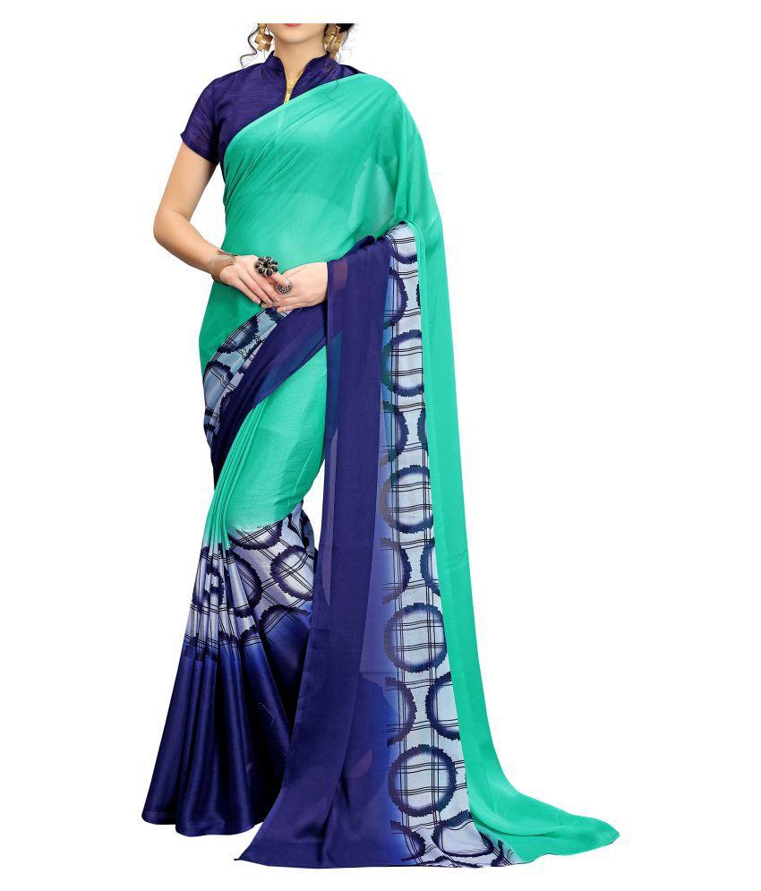 LADYETHNIC Multicoloured Bangalore Silk Saree