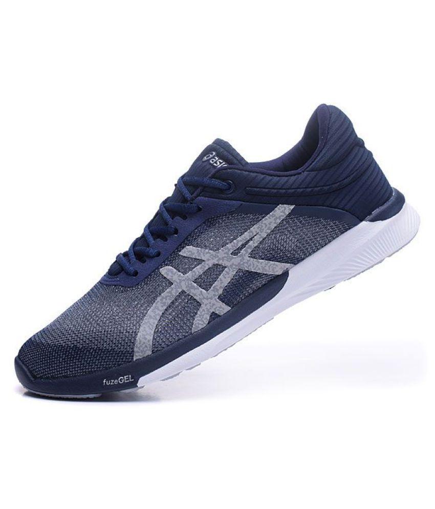 erityinen tarjous kuumia tuotteita mahtavat hinnat Asics fuzeX Rush Blue Running Shoes