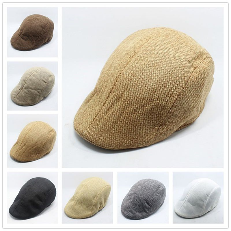 ZXG Beige Fabric Caps