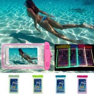 Feelingirl Flycool Pvc Luminous Waterproof Phone Case Cover