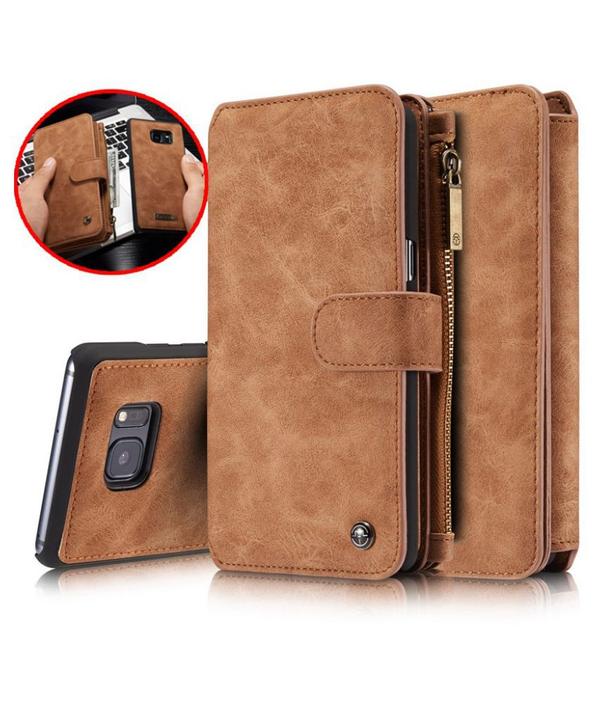beb0c4f7fb7 CaseMe Brand Retro Second Multi-functional Wallet Leather Case for iphone X  8 7 7 Plus ...