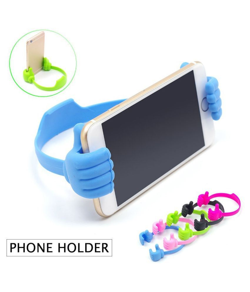 Cute Thumb Desktop Phone Holder Stand For Mobile Cell Phone Tablet Desk Stents Mobile Enhancements Online At Low Prices Snapdeal India