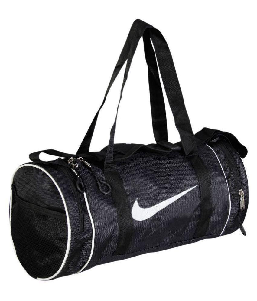 b9410b3499 Nike Medium Polyester Gym Bag Travel Bag - Buy Nike Medium Polyester Gym Bag  Travel Bag Online at Low Price - Snapdeal