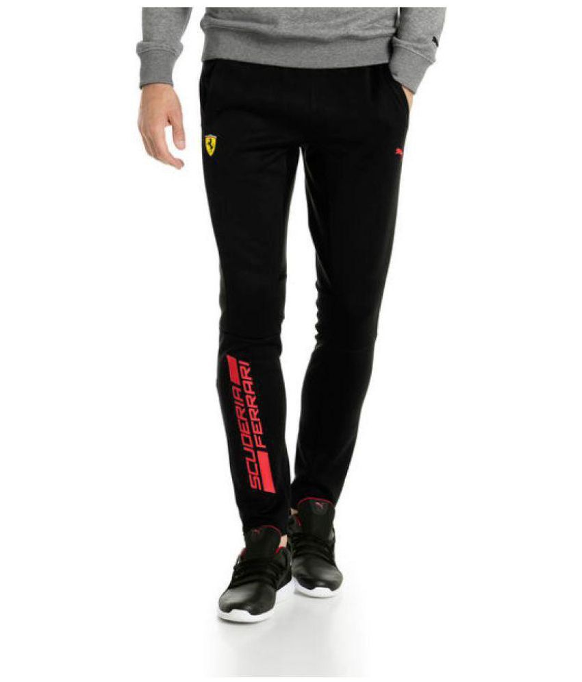 a7cc5dc61161 Puma Black Polyester Lycra Trackpants - Buy Puma Black Polyester Lycra  Trackpants Online at Low Price in India - Snapdeal