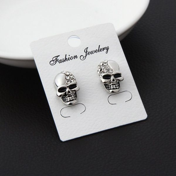 New High-grade Fashion Personalized Skull Earrings Punk Style Stud Earring