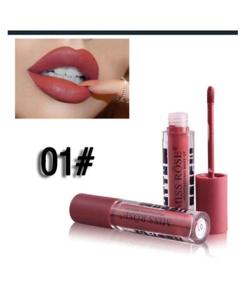 Miss Rose Lip Gloss Liquid Round 01   3 gm