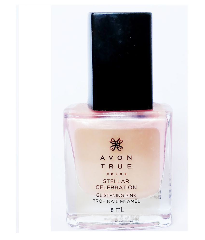 Avon Pink Nail Polish: AVON Nail Polish Glistening Pink 8 Ml: Buy AVON Nail