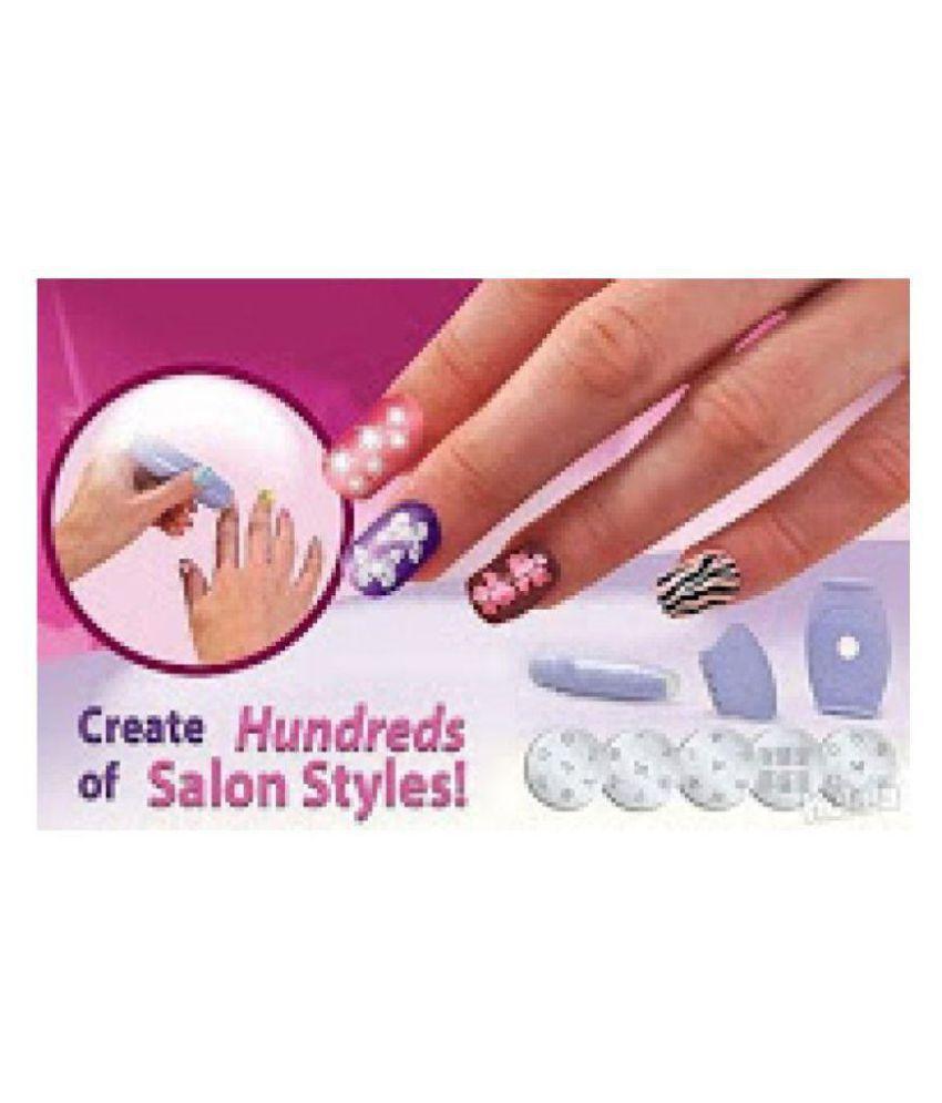 Shoppingtadka Nails 1 gm SHOPPINGTADKA NAIL ART STAMPING KIT: Buy ...