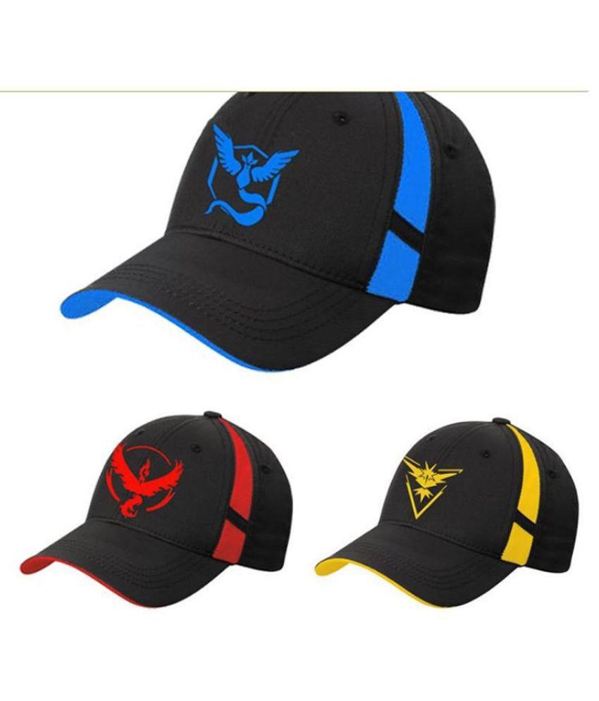 ZXG Black Fabric Caps