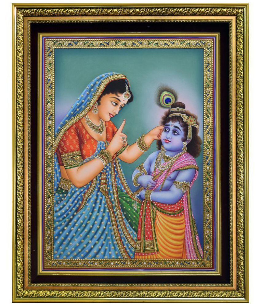 Mukund Arts Canvas Painting With Frame