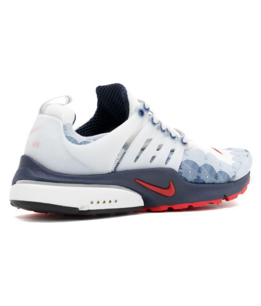 Nike Air Presto U.S.A White Running Shoes