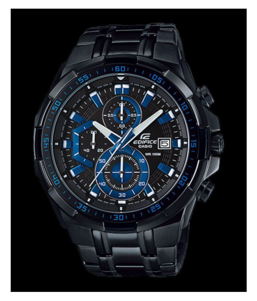 a36f74bd2105 Casio Edifice 5345 EFR-540 Stainless Steel Chronograph - Buy Casio Edifice  5345 EFR-540 Stainless Steel Chronograph Online at Best Prices in India on  ...
