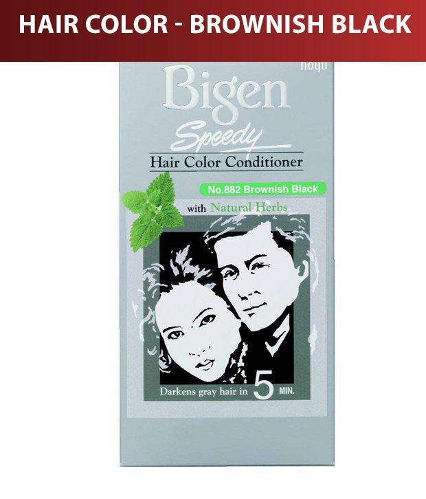 Bigen-Speedy Hair Color- No. 882 Brownish Black