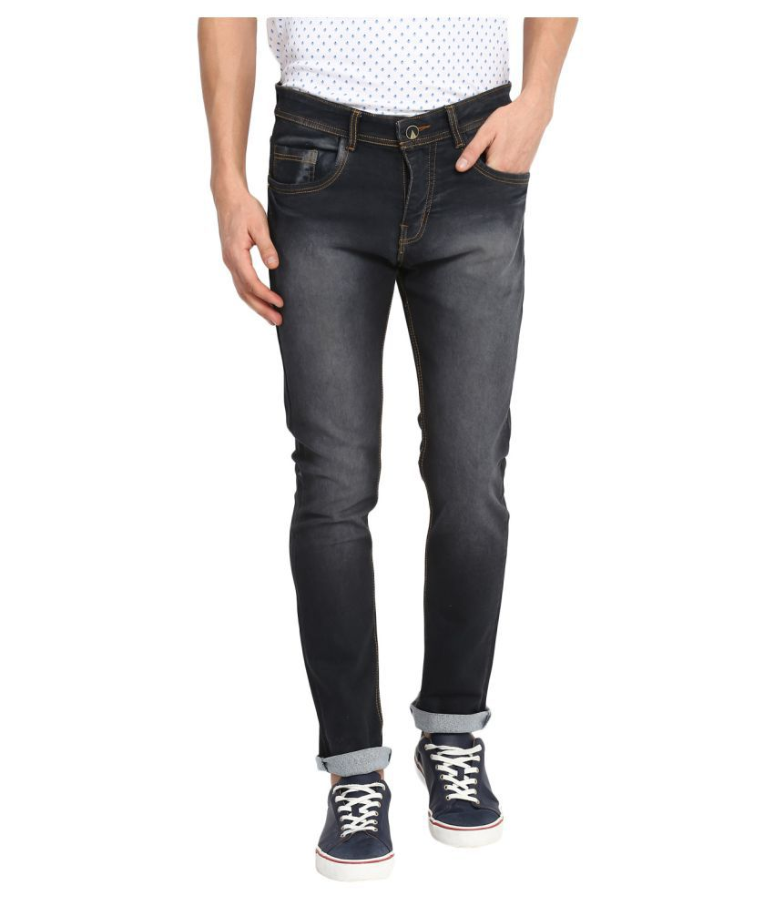 Routeen Grey Slim Jeans