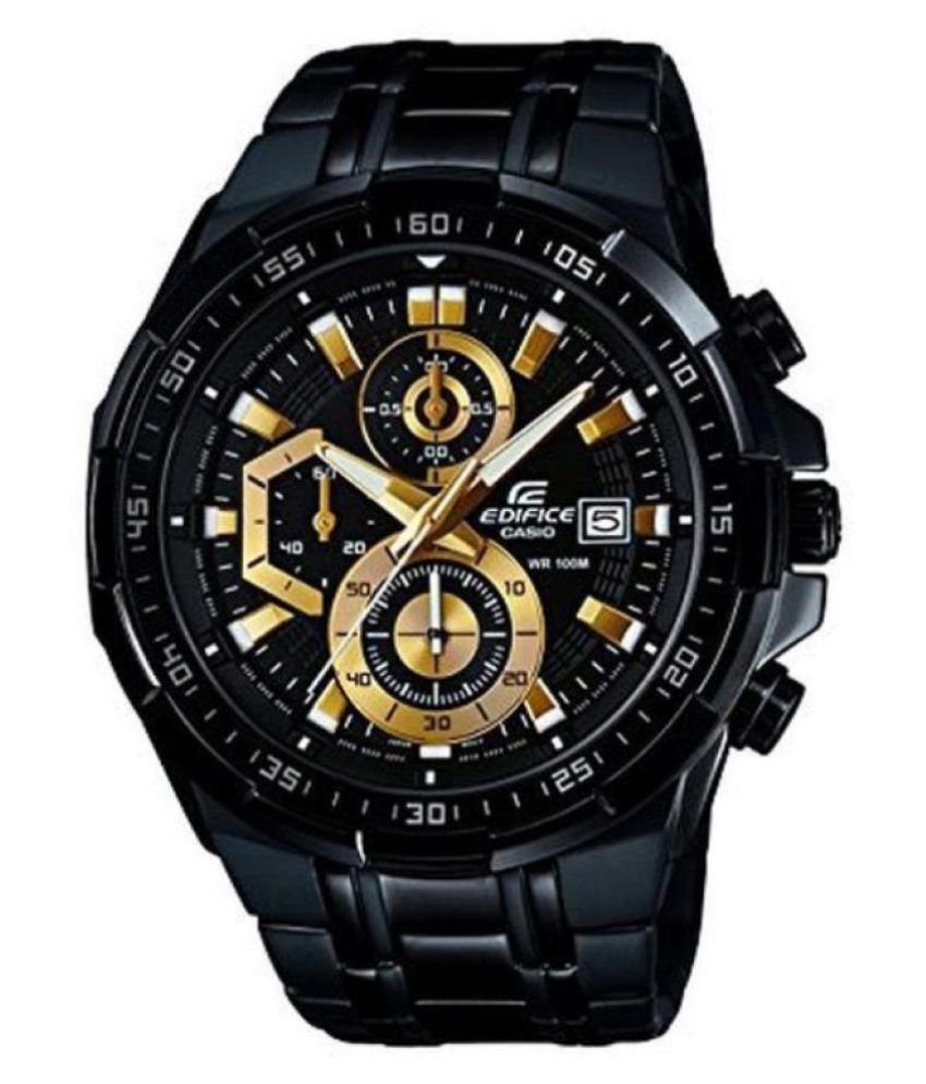 dd15f5e4a873 Casio Edifice 5345 EFR-558 Stainless Steel Chronograph - Buy Casio Edifice  5345 EFR-558 Stainless Steel Chronograph Online at Best Prices in India on  ...
