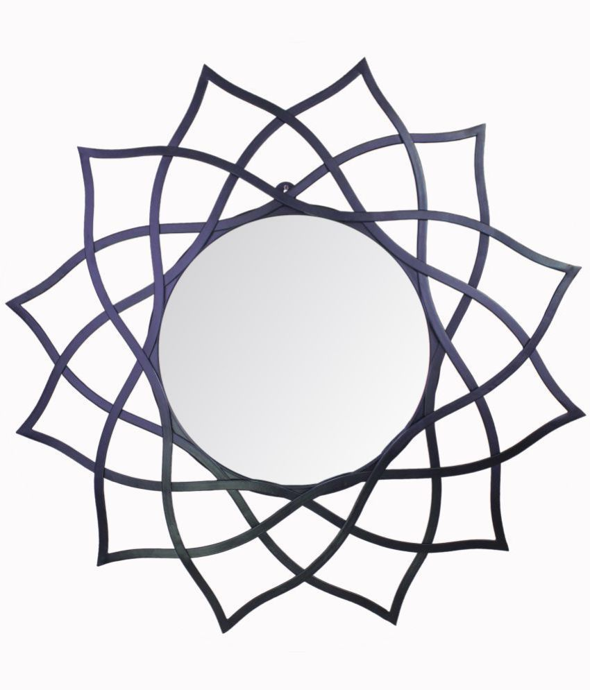 Hosley Mirror Wall Mirror ( 72 x 3 cms ) - Pack of 1