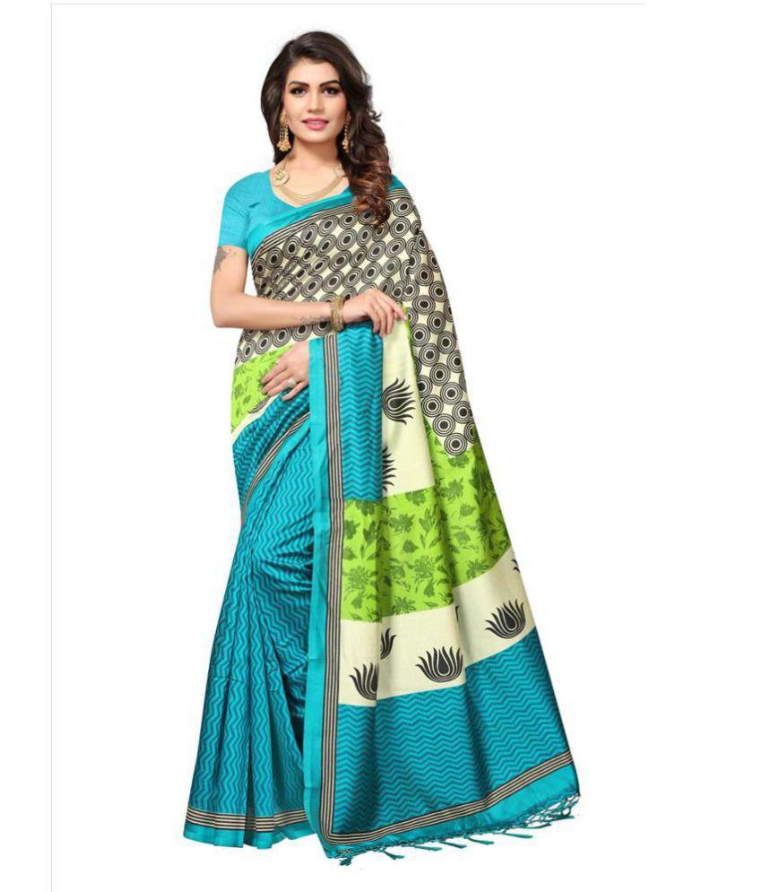 Indira Multicoloured Mysore Silk Saree