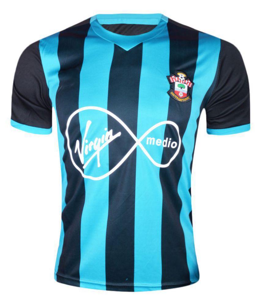 hot sales 0ea6d bdf76 Southampton FC Blue Polyester Jersey