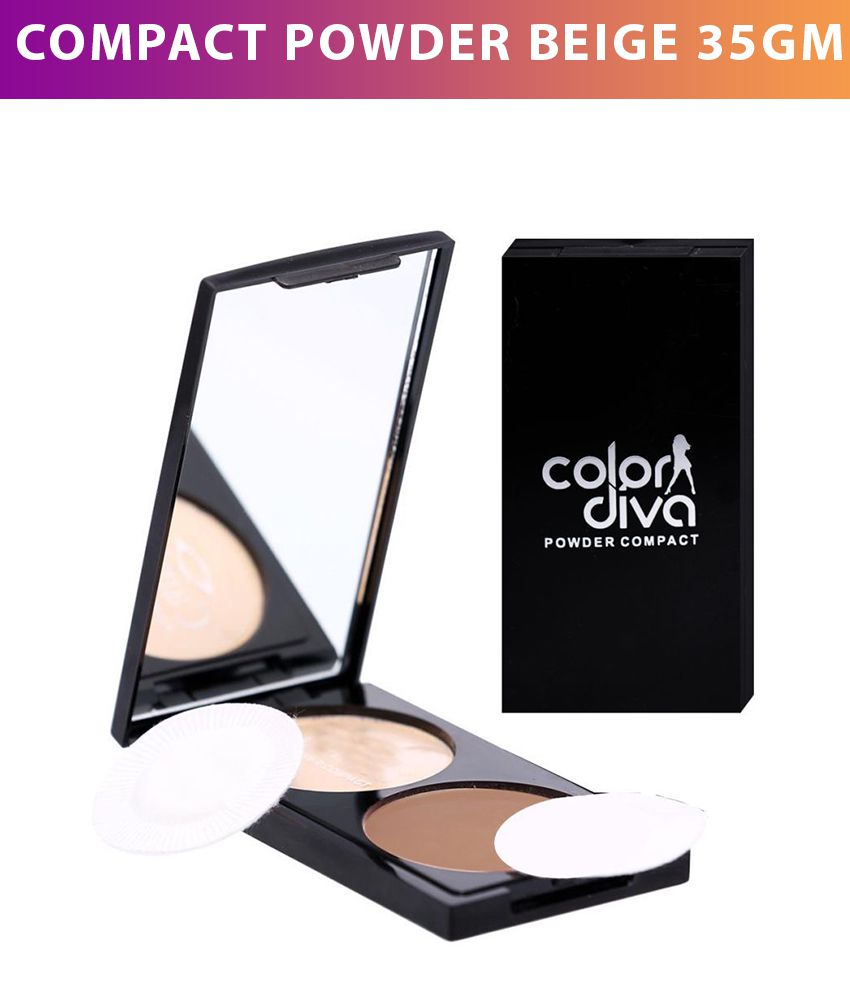 Color Diva Dual 101 Compact Powder Beige 35 gm