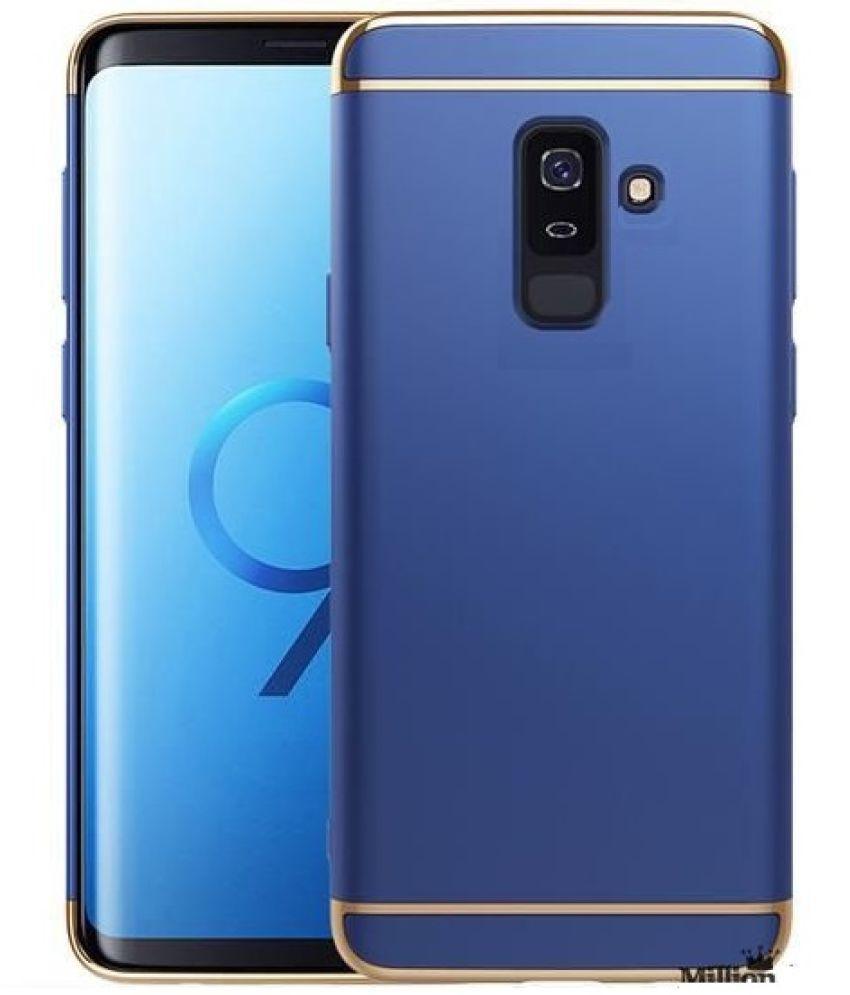 best loved f054c dc874 Samsung Galaxy A6 Plus 2018 Plain Cases 2Bro - Blue