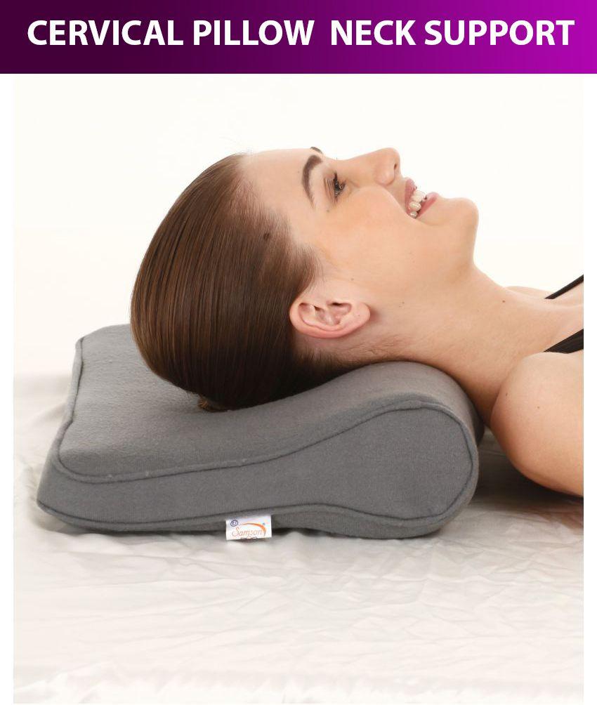 Astonishing Samson Cervical Pillow Regular Neck Support Free Size Machost Co Dining Chair Design Ideas Machostcouk