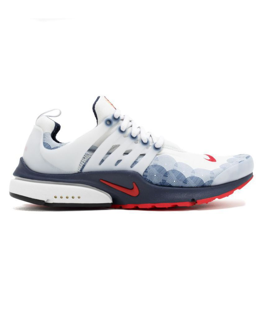 47869edc89dc Nike Air Presto Olympic USA White Running Shoes - Buy Nike Air Presto  Olympic USA White Running Shoes Online at Best Prices in India on Snapdeal