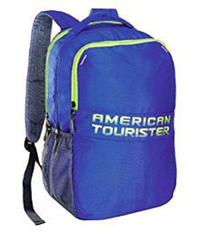American Tourister Royal Blue Backpack