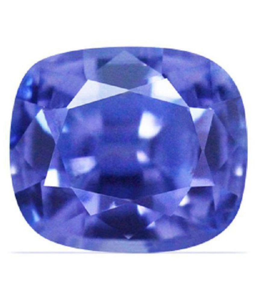 SPIRITUALCART 8.25 -Ratti IGL Blue Blue Sapphire (Neelam) Precious Gemstone