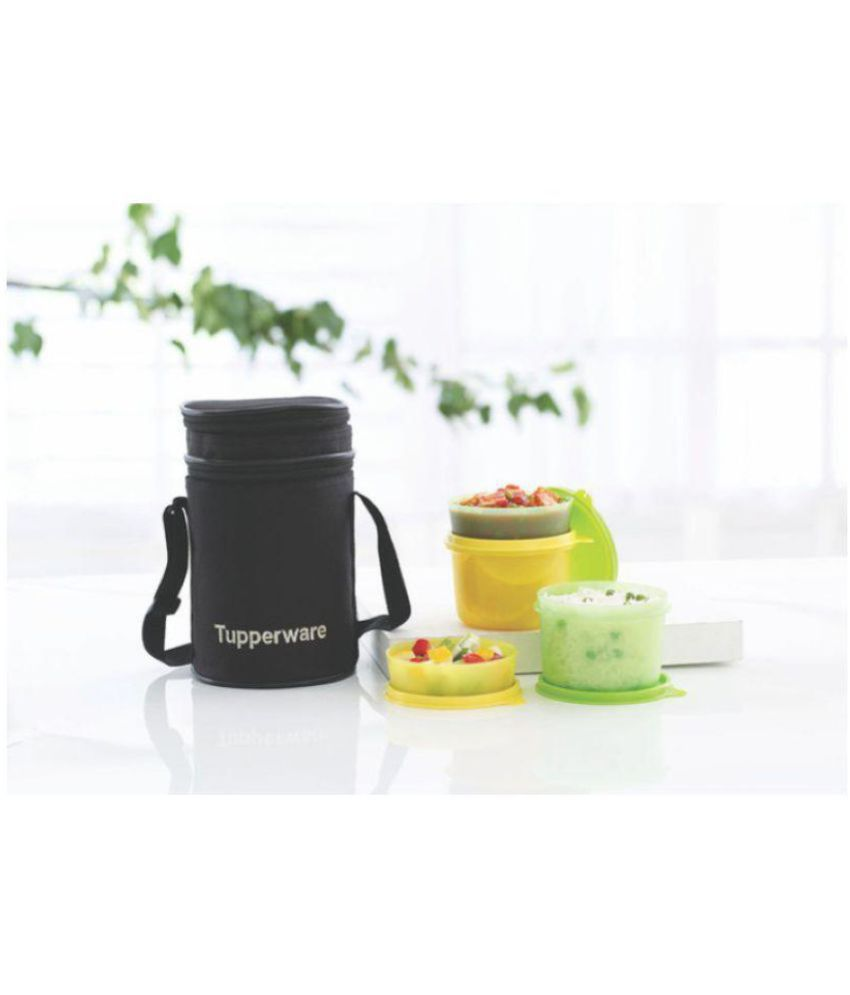 7ab7b33208e Tupperware Multicolour Lunch Box  Buy Online at Best Price in India -  Snapdeal