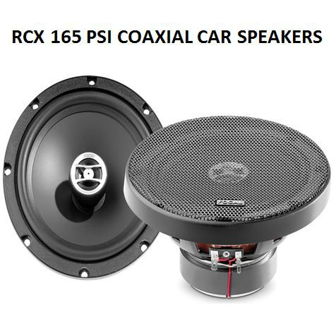 Focal Performance Auditor RCX-165PSI 6.5 2-Way Coaxial Car Speakers 375W 75RMS
