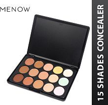 Me Now Highlighter Contour Cream Concealer Palette (15 Shades) 114 gm