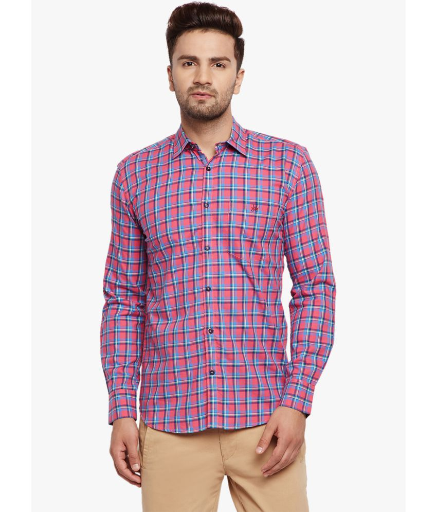 Crimsoune Club Pink Slim Fit Shirt