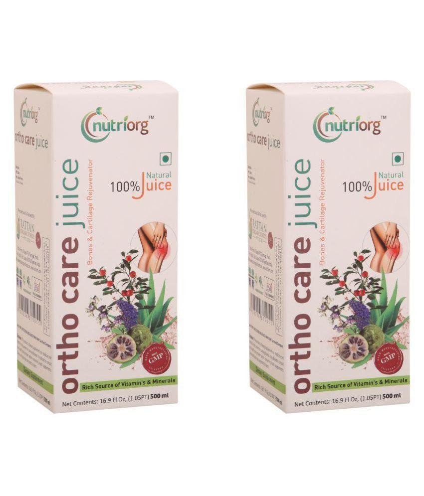 Nutriorg Ortho Health Drink Liquid 500 ml Pack of 2