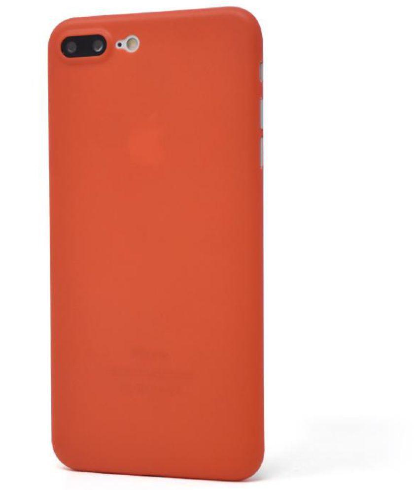 Apple Iphone 8 Plus Plain Cases IPAK , Red