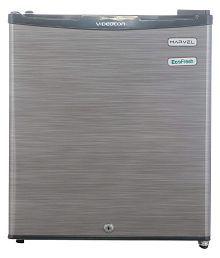 Videocon 47 Ltr 3 Star (Silver Hairline, VC060PSH-FDA) Single Door Refrigerator - Silver