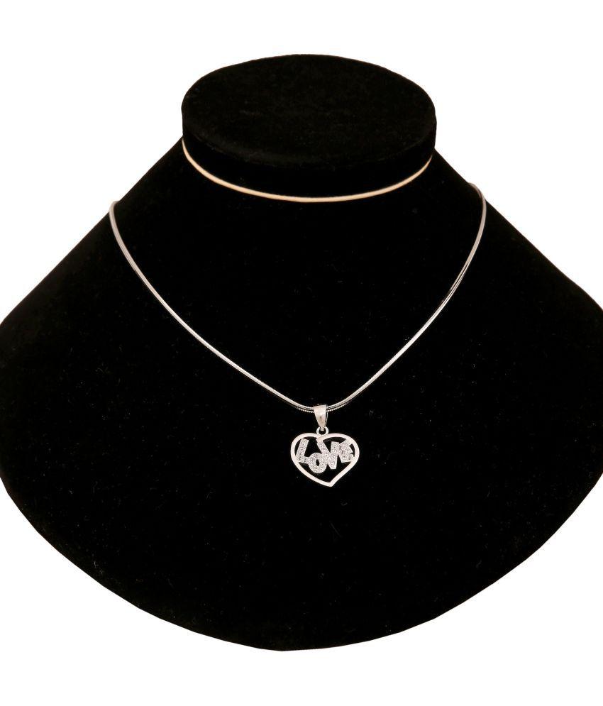 Lucky Choice 92.5 BIS Hallmarked Silver Necklace