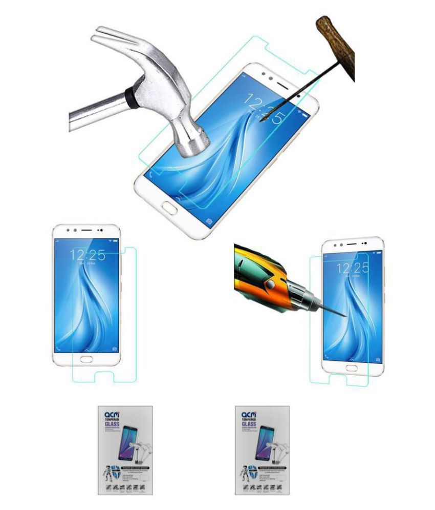 Vivo V5 Plus Tempered Glass Screen Guard By ABS & ABC