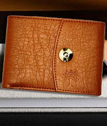 Woodland Imports Leather Tan Formal Short Wallet