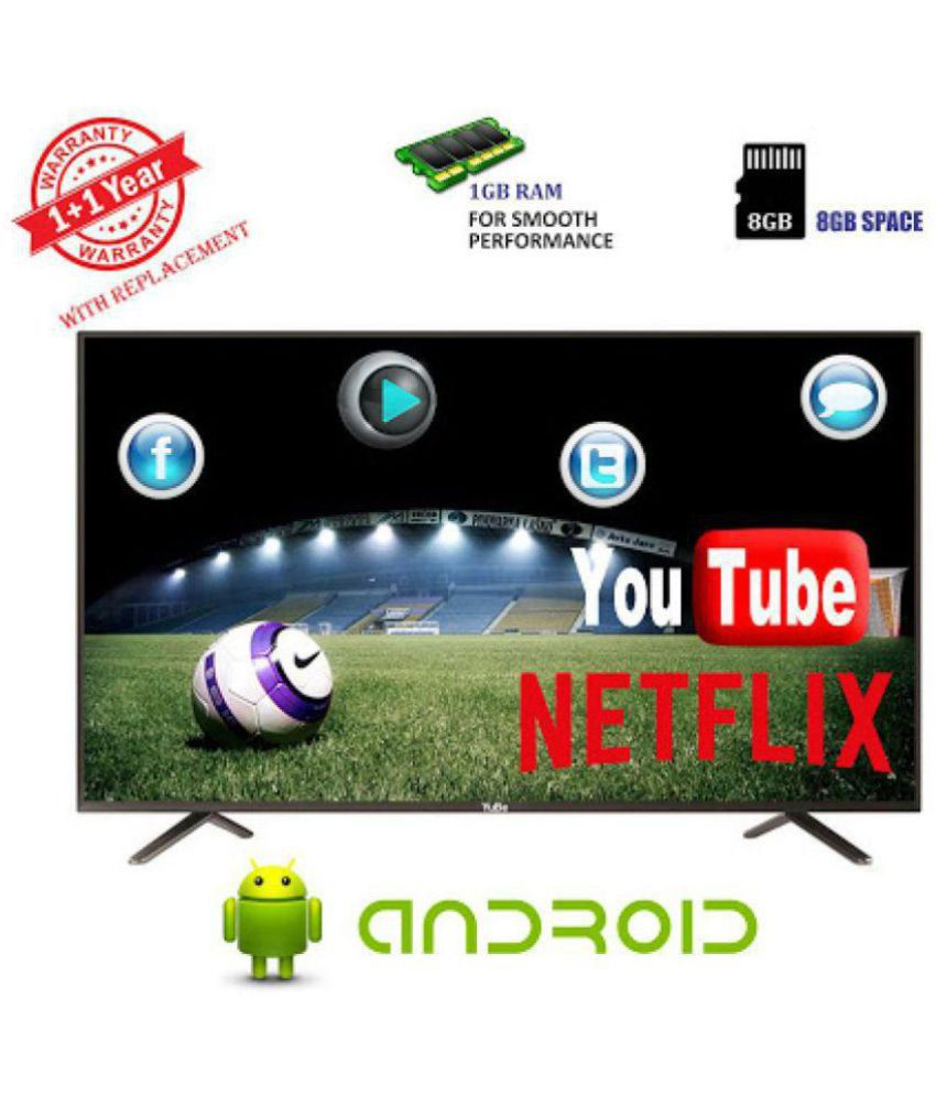 YuBe TVM-40 101 cm ( 40 ) Smart Full HD (FHD) LED Television With 1+1 Year Extended Warranty
